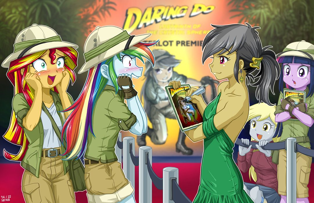 38++ Are daring do books real ideas