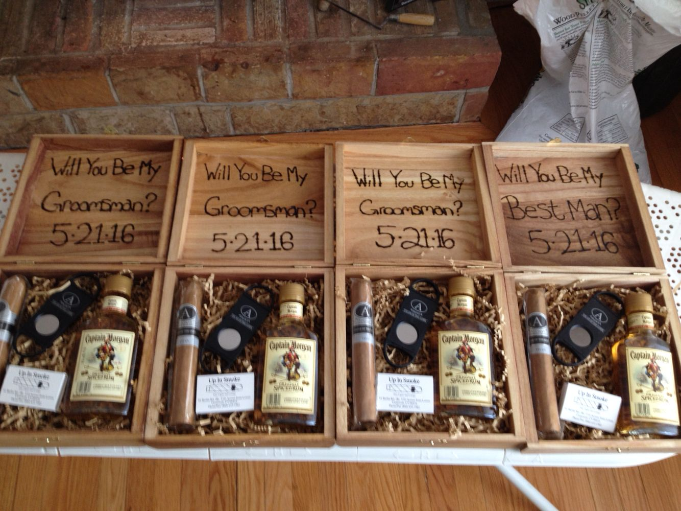 I M So Proud Of My Groomsmen Boxes Wedding Ideas Gifts For