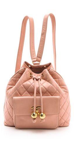 00543da0f8dc Ashlees Loves: Chanel info @ashleesloves.com #WGACA #Vintage #Chanel  #Backpack #women's #designer #fashion #handbags #couture #style