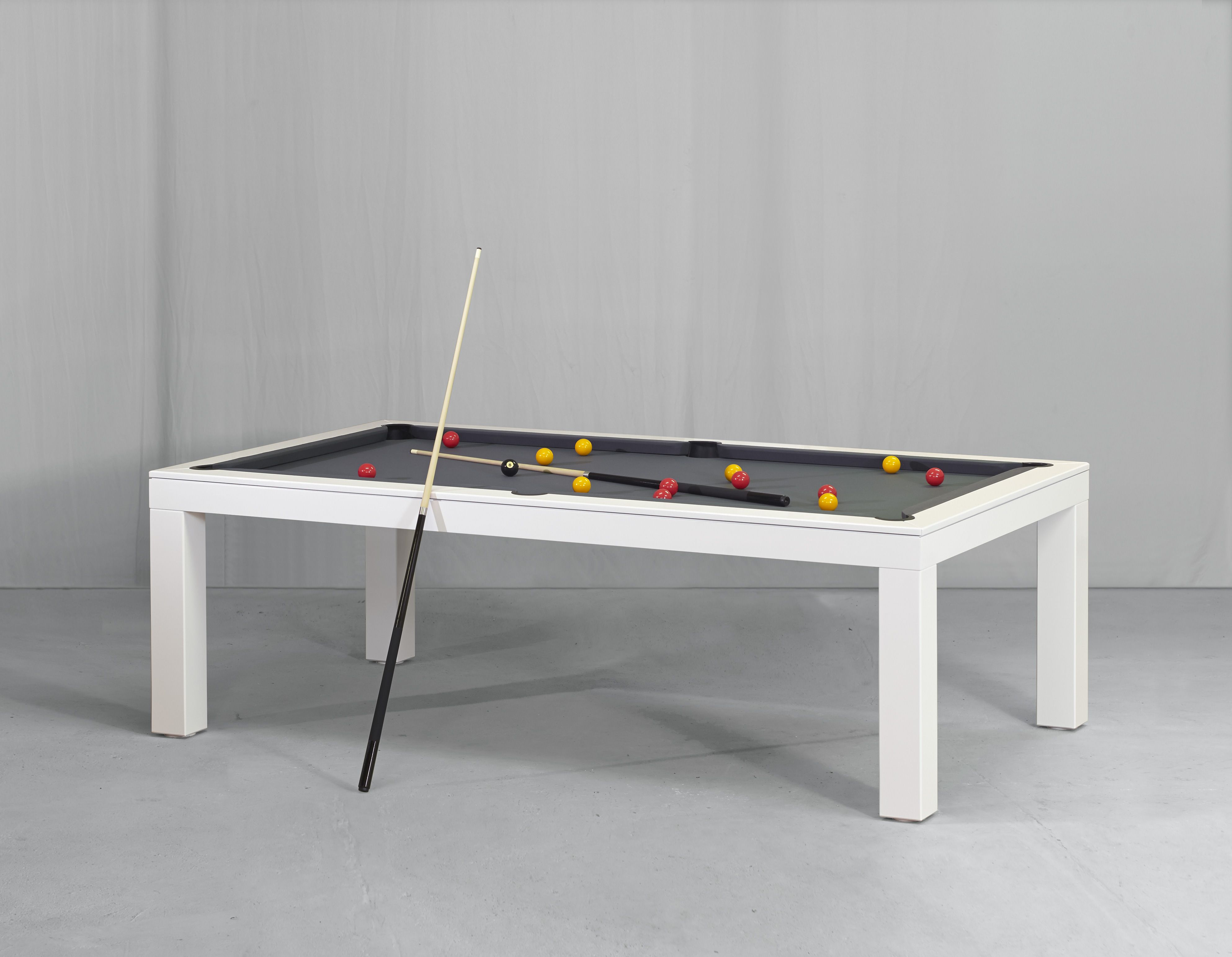 Luxury Pool Table By Vision Billiards That Converts Into A Dining