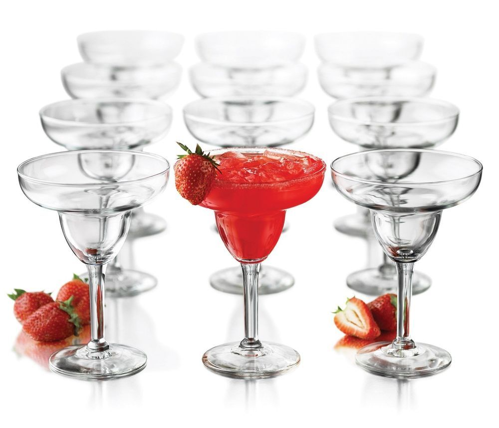 New Libbey 12 Piece Margarita Glasses Party Set Kit Kitchen Glass Margarita Party Margarita Libbey