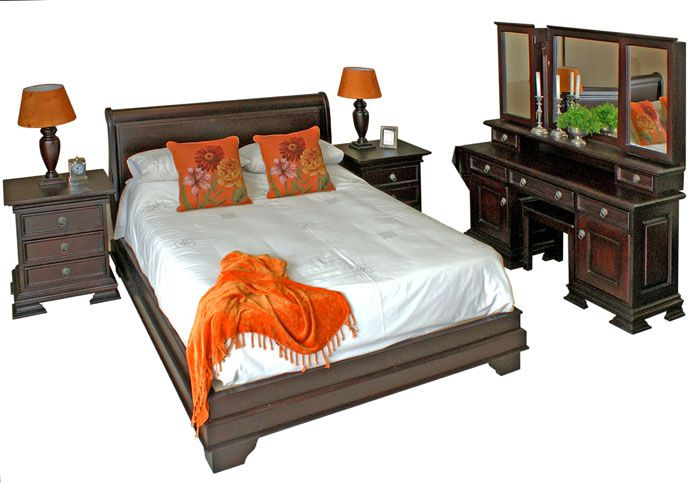 Sleigh Bed Detail No Footboard Country Furniture Bed Bed