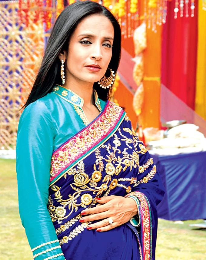 Suchitra Pillai celebrating Holi at a party hosted by Colors. #Style #Bollywood #Fashion #Beauty