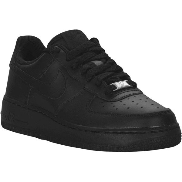 7b01b78f7f8 Nike Air Force 1 Low 07 LE Boys  Grade School ( 75) ❤ liked on Polyvore  featuring shoes