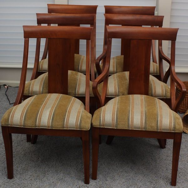 These Are My Dining Chairs But I Have Much Fresher Upholstery