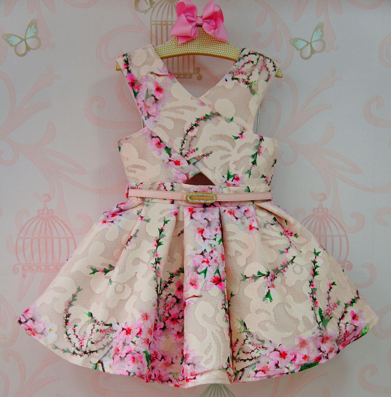Vestido festa infantil petit cherie