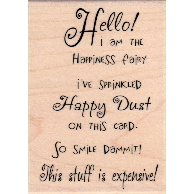 Hello Happy Dust Crackerbox Palace Words For Cards Pinterest