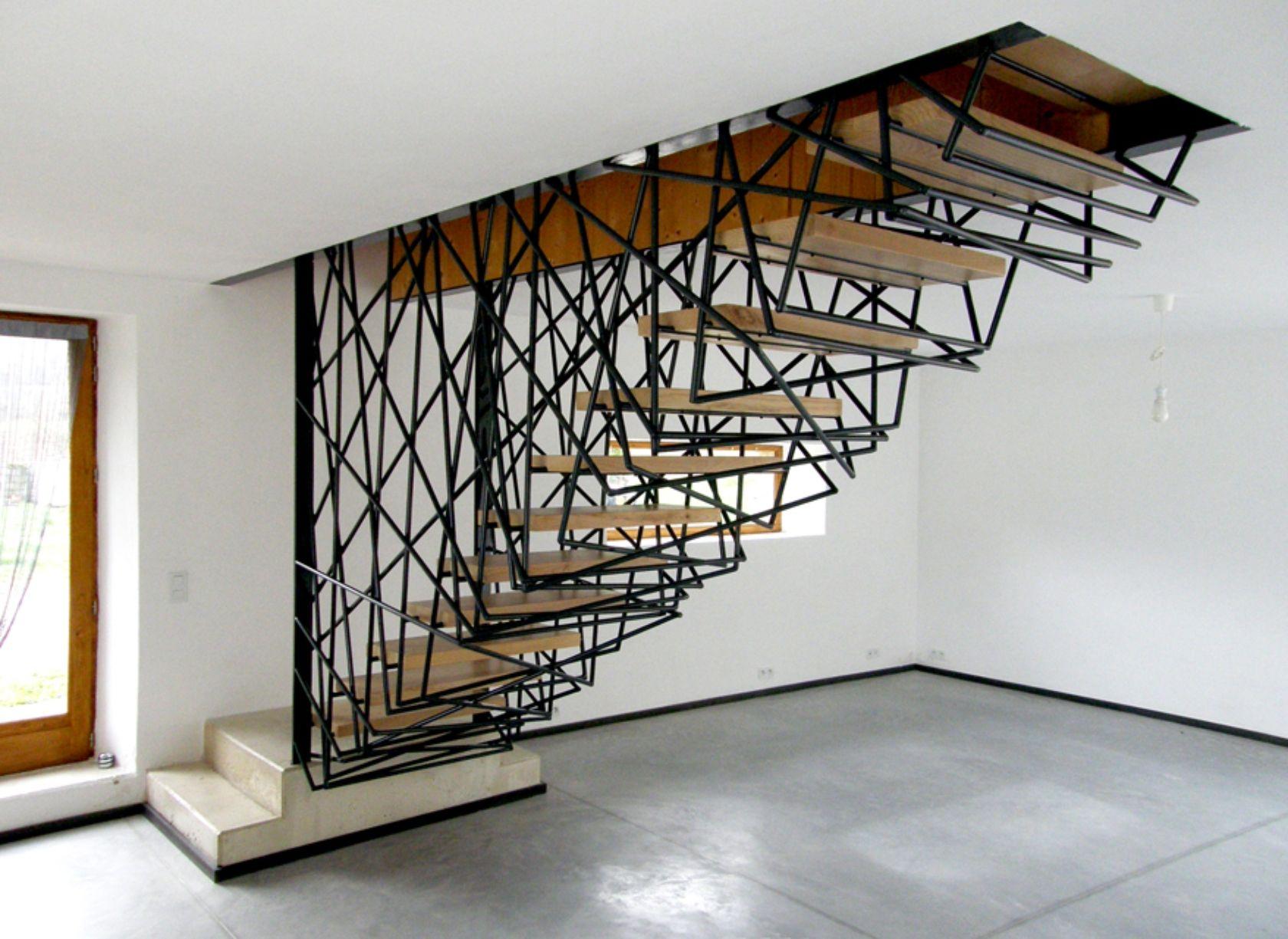 Best Villa La Roche Stairs Design Staircase Design Modern 400 x 300