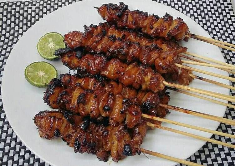 Resep Sate Kulit Ayam Pr Adakecapmanisnya Oleh Susan Mellyani Resep Resep Masakan Resep Makanan