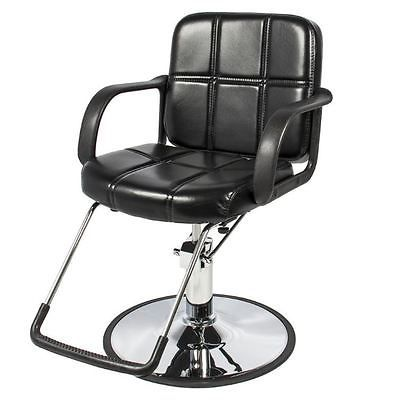 Fabulous New Black Leather Hydraulic Barber Chair Spa Salon Stylist Gmtry Best Dining Table And Chair Ideas Images Gmtryco