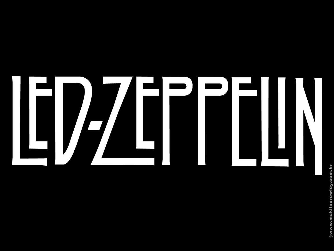 Hard Rock Led Zeppelin Logo Rock Band Logos Zeppelin