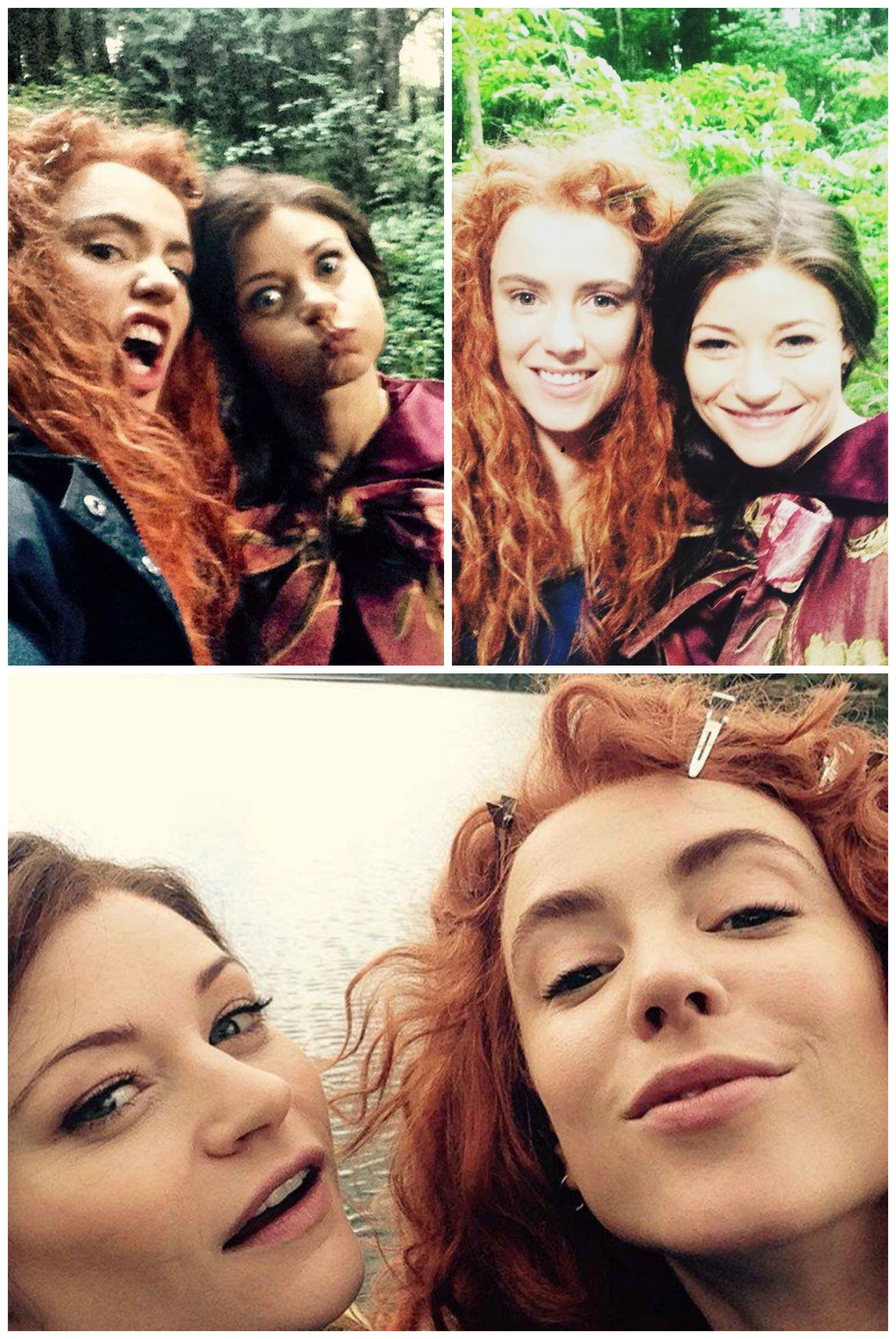 Amy Manson & Emilie De Ravin | Once Upon A Time | Once ...