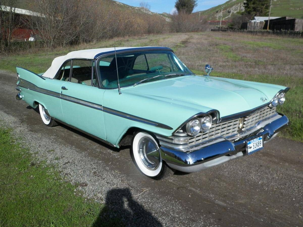 1959 Plymouth Sport Fury Convertible For Sale 1832786 Hemmings