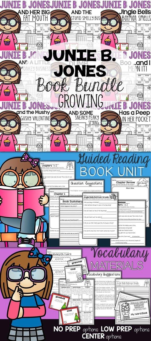 Junie B Jones Book Companion Bundle 1-28 | Junie B  Jones | Junie b