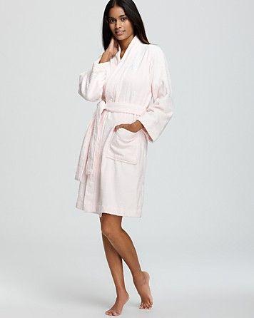dfd3593f2bb5 Lauren Ralph Lauren The Greenwich Terry Robe | Bloomingdale's ...