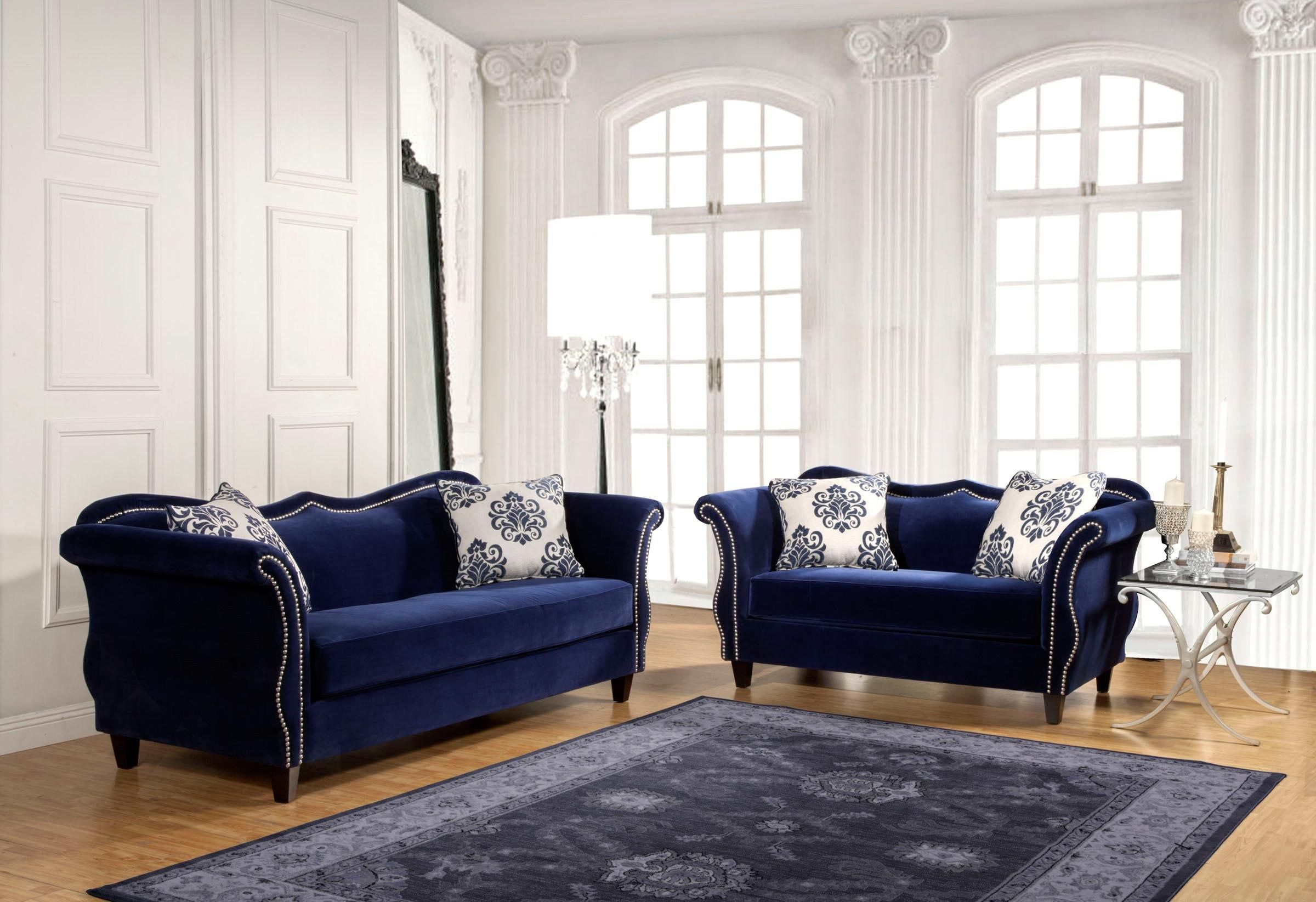30 Awesome Picture Of Blue Couch Living Room Janicereyesphotography Com Muebles De Sala Modernos Sofa Azul Marino Muebles Sala