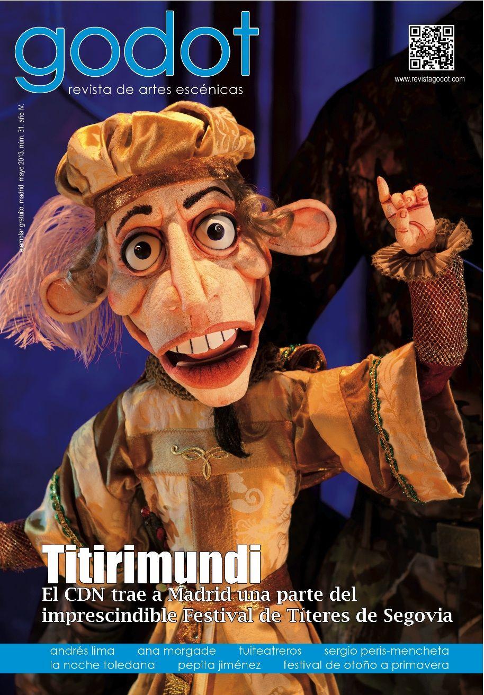 Número 31. Titirimundi. Títeres en portada