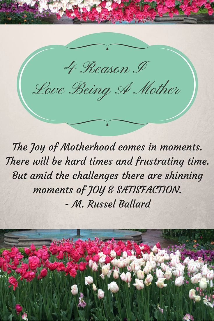 Download 4 Reasons I Love Being a Mother   The joys of motherhood ...
