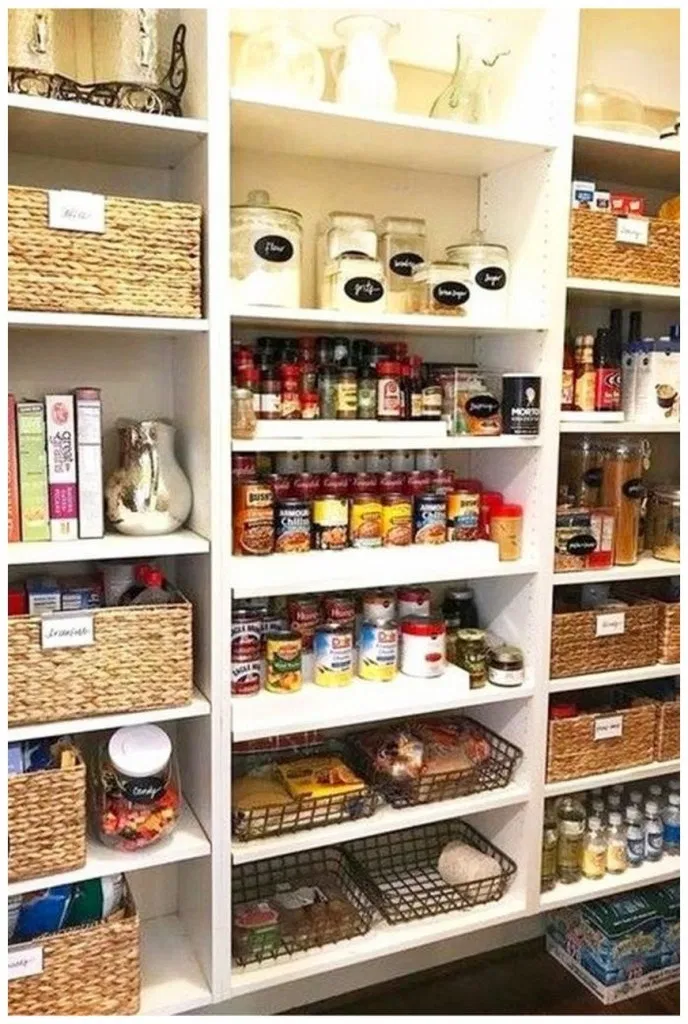 40+ How To Create The Perfectly Organized Pantry ...