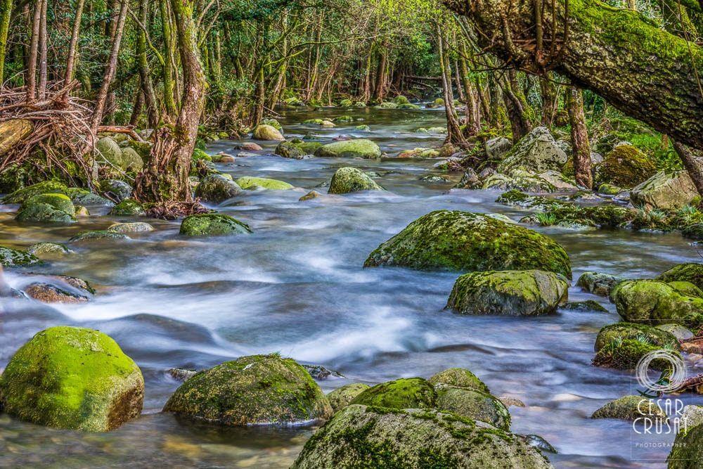 Río Pedras a su paso por Entre Os Ríos