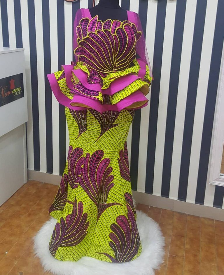 d2a4908b62e23b Hot Ankara Skirt & Blouse Styles For Your Next Owamba | Divine ...
