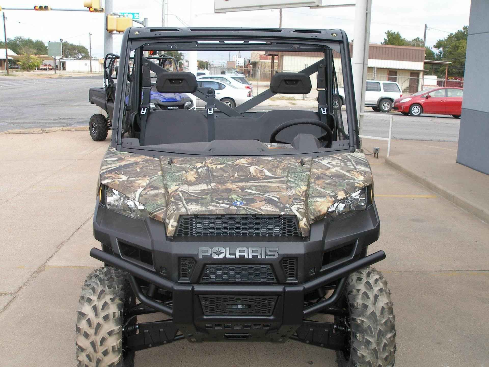 New 2017 Polaris Ranger XP® 900 Camo ATVs For Sale in Texas. Polaris Pursuit Camo High output 68-horsepower ProStar® engine Smooth riding suspension travel and refined cab comfort Industry exclusive Pro-Fit cab integration