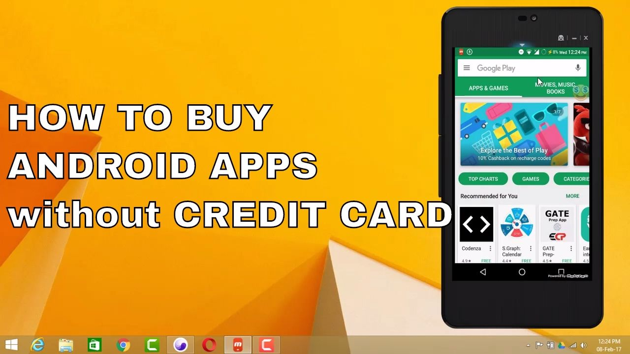 How to get android apps without debit cards or credit