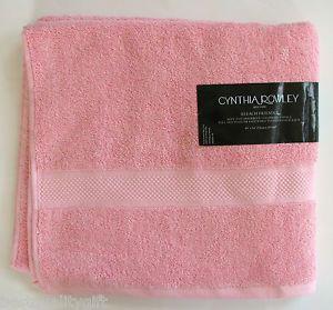 Cynthia Rowley Light Pink 100 Cotton Bath Towel 30 X 54 76 X 137