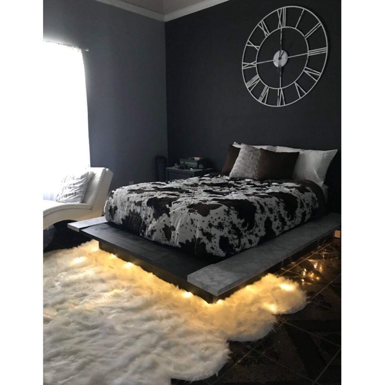 Bed Frame Is Fuegoo