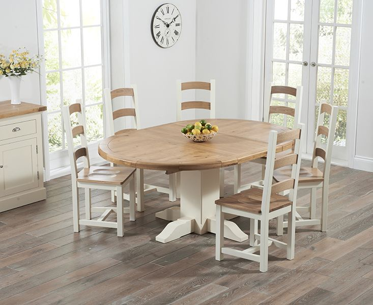 Round Extendable Dining Room Tables  Dining Furniture  Pinterest Amusing Oak Dining Room Furniture Inspiration