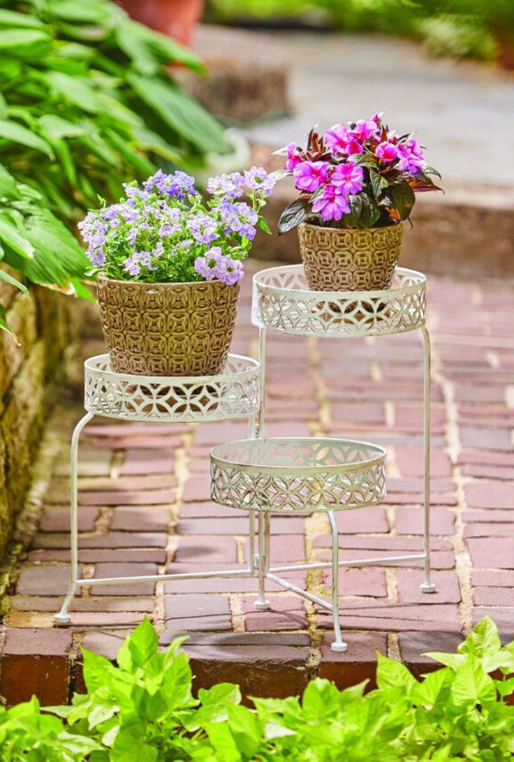 Patio & Garden Plant stands outdoor, Plant stand, Diy