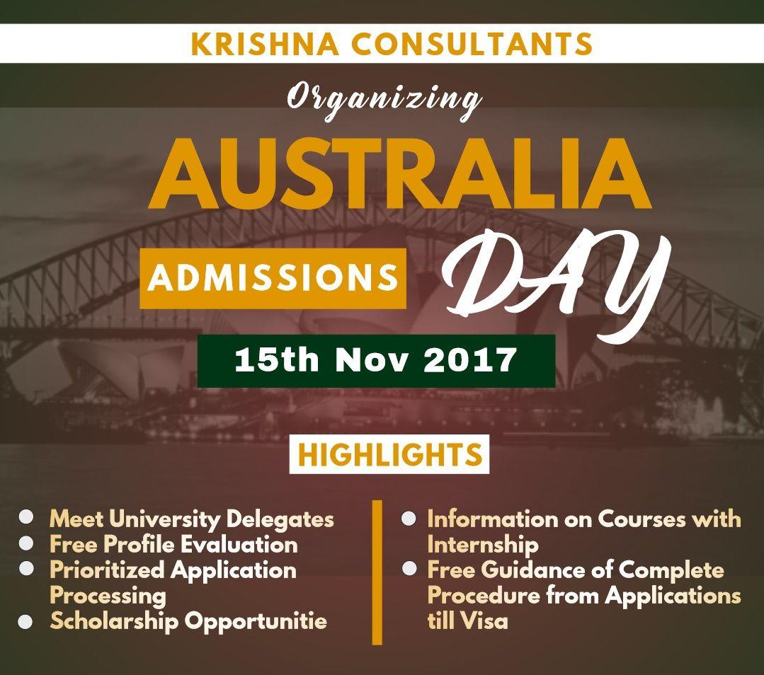 Planning To Study In Australia Chance To Meet Top Australian