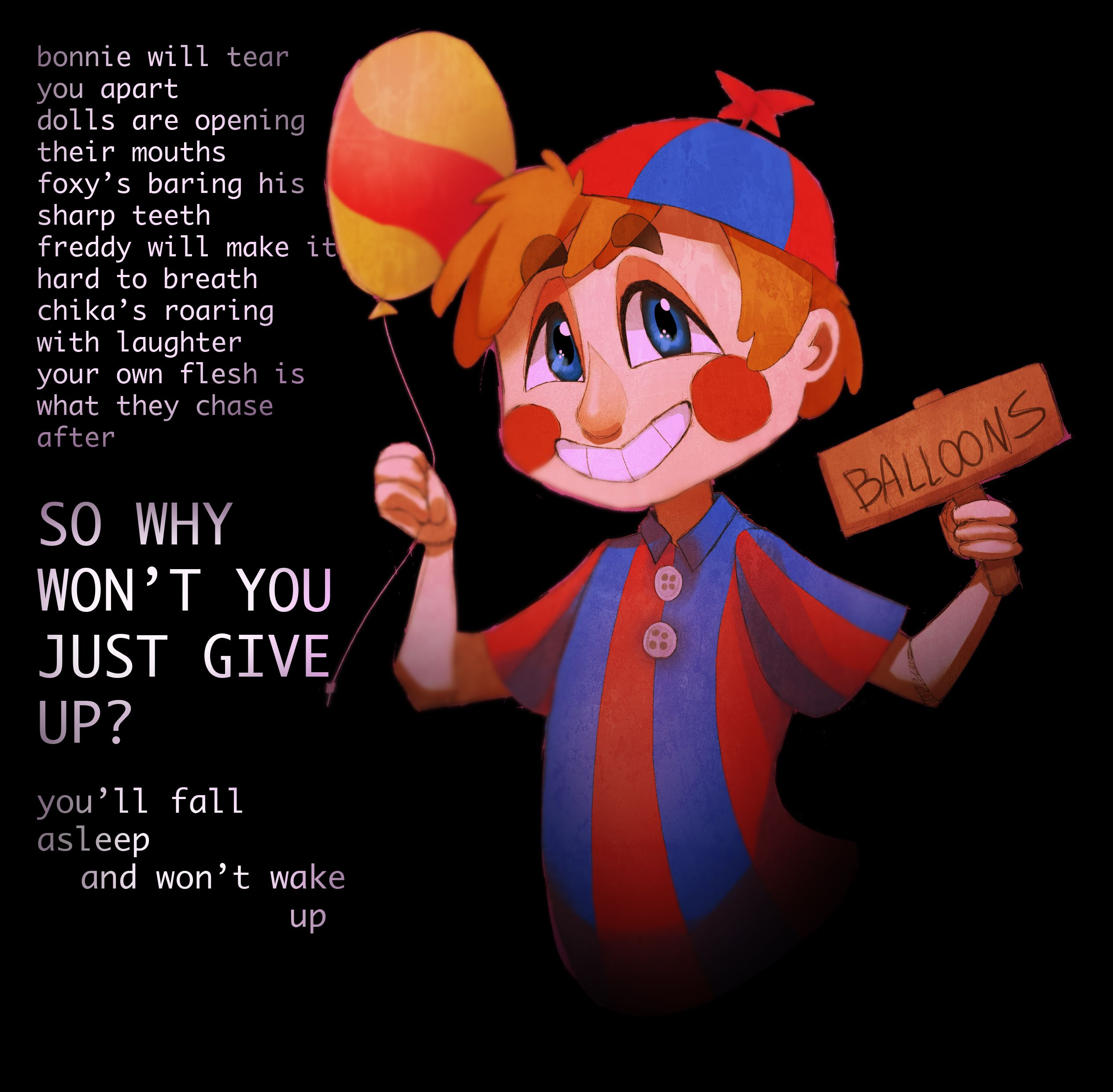 Balloon Boy - I Love The Song It's Quoting