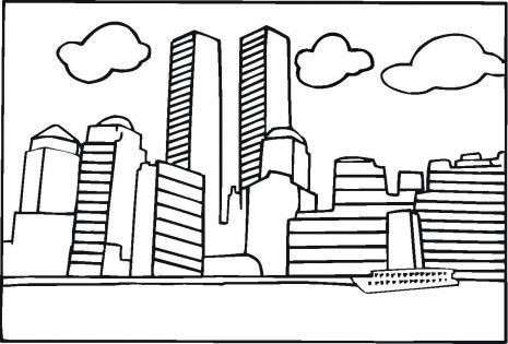 Skyscraper Coloring Pages 6 Jpg 465 315 Super Coloring Pages