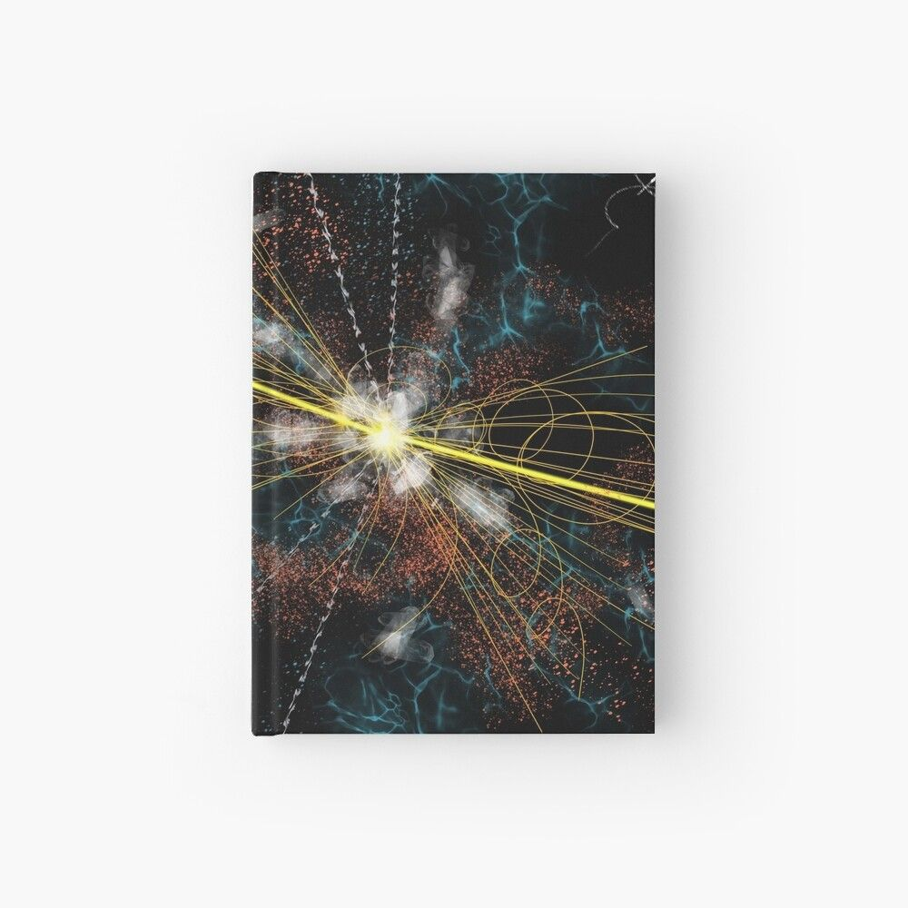 'Higgs Boson elementary particle' Hardcover Journal by