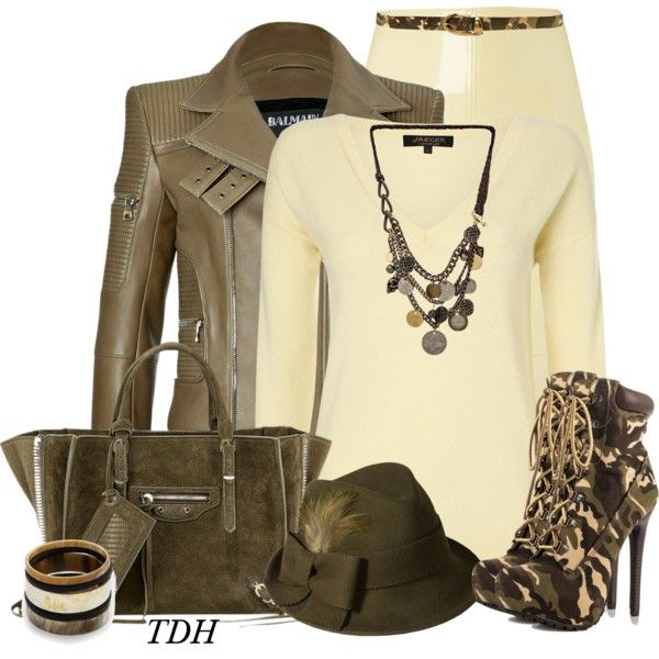 """""""Camo Booties"""" by talvadh on Polyvore"""