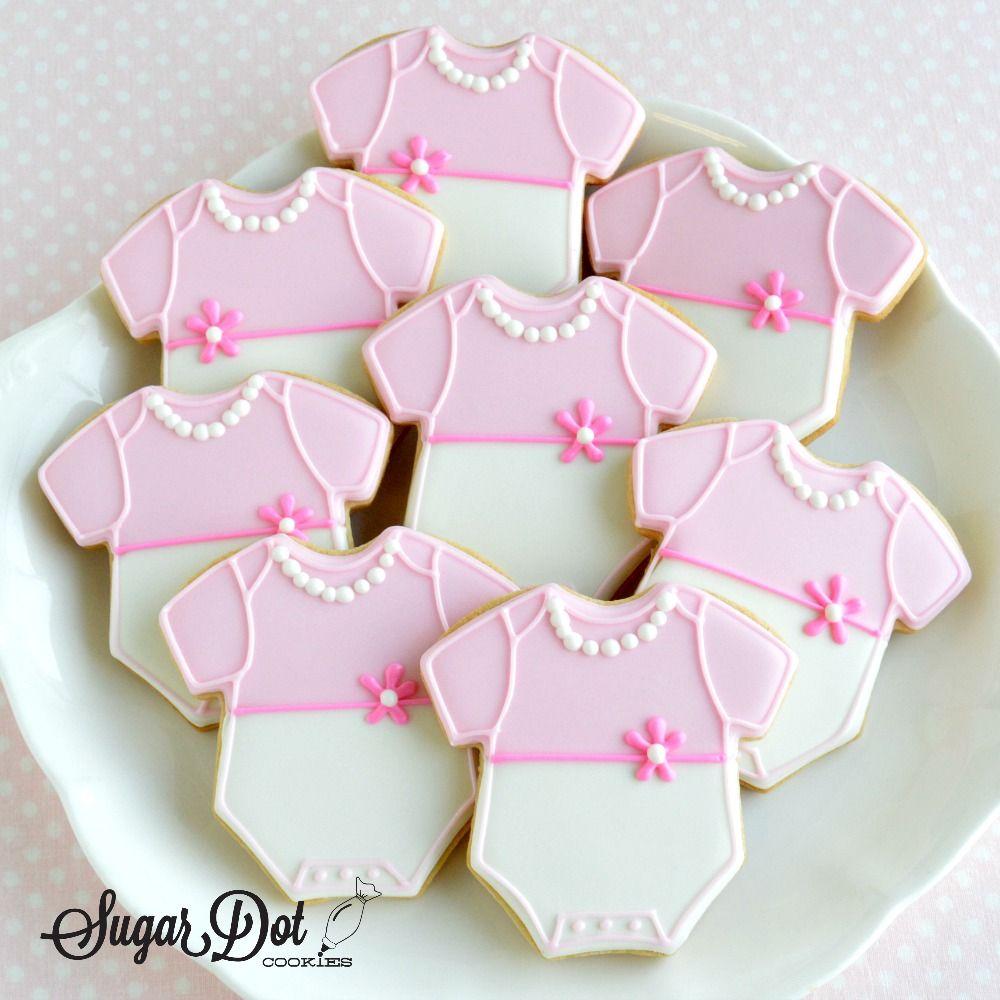 Sugar Dot Cookies Sugar Cookies Baby Boy And Girl