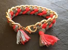 bracelet chaine tressee - Recherche Google