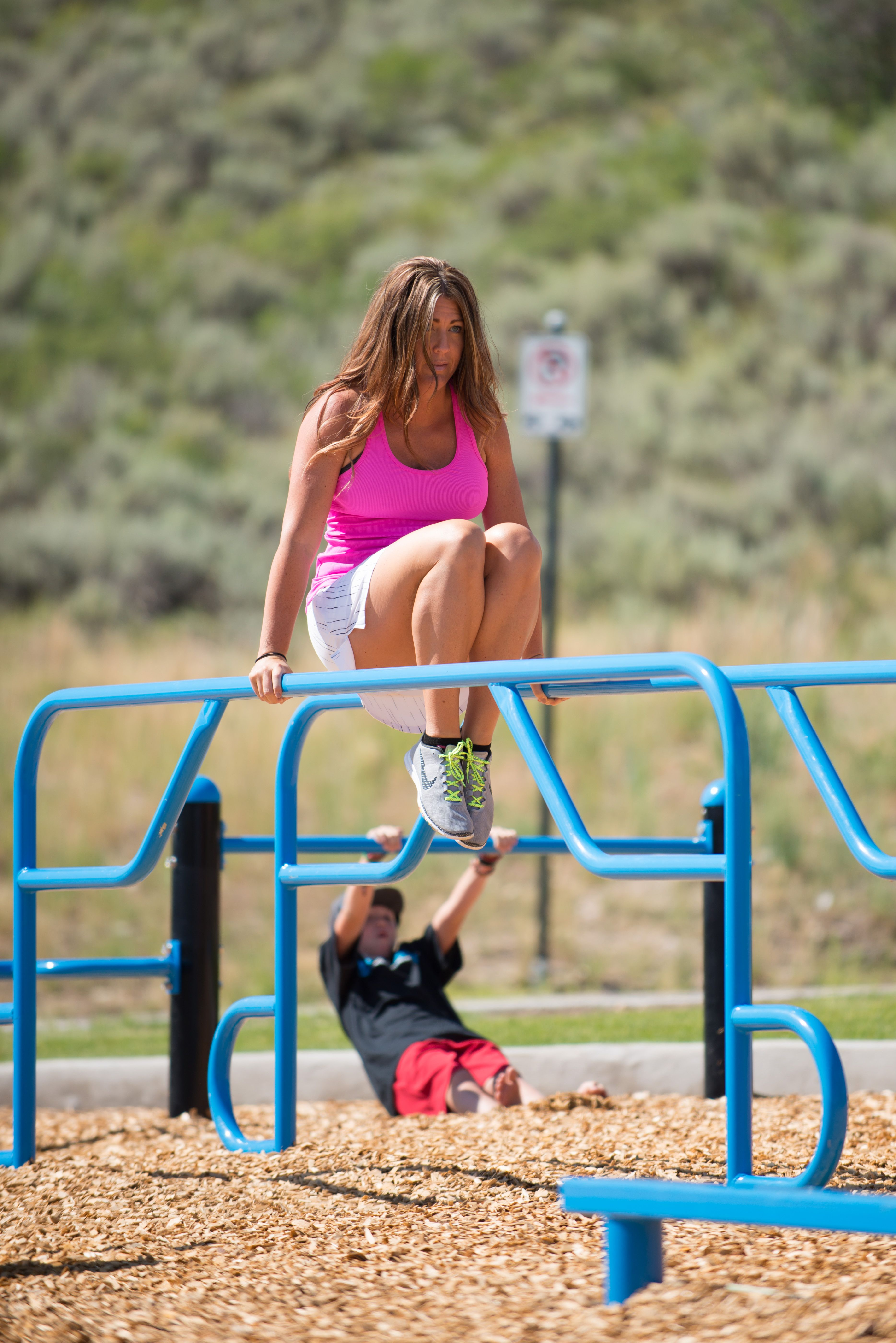Elite parallel bars provide for some challenging