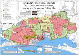 Eglin Recreational Map   Places to visit in 2019   Eglin air