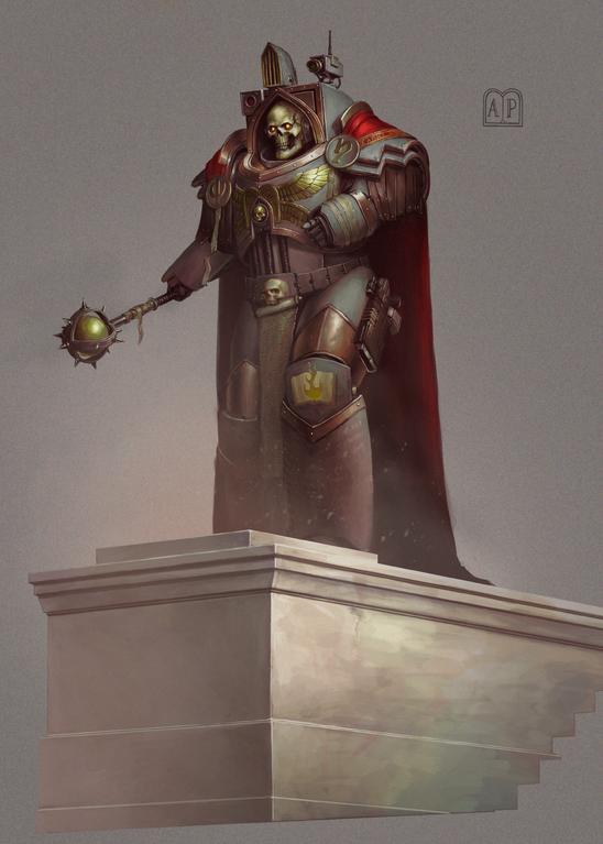 Pre-Heresy Word Bearers Chaplain Terminator