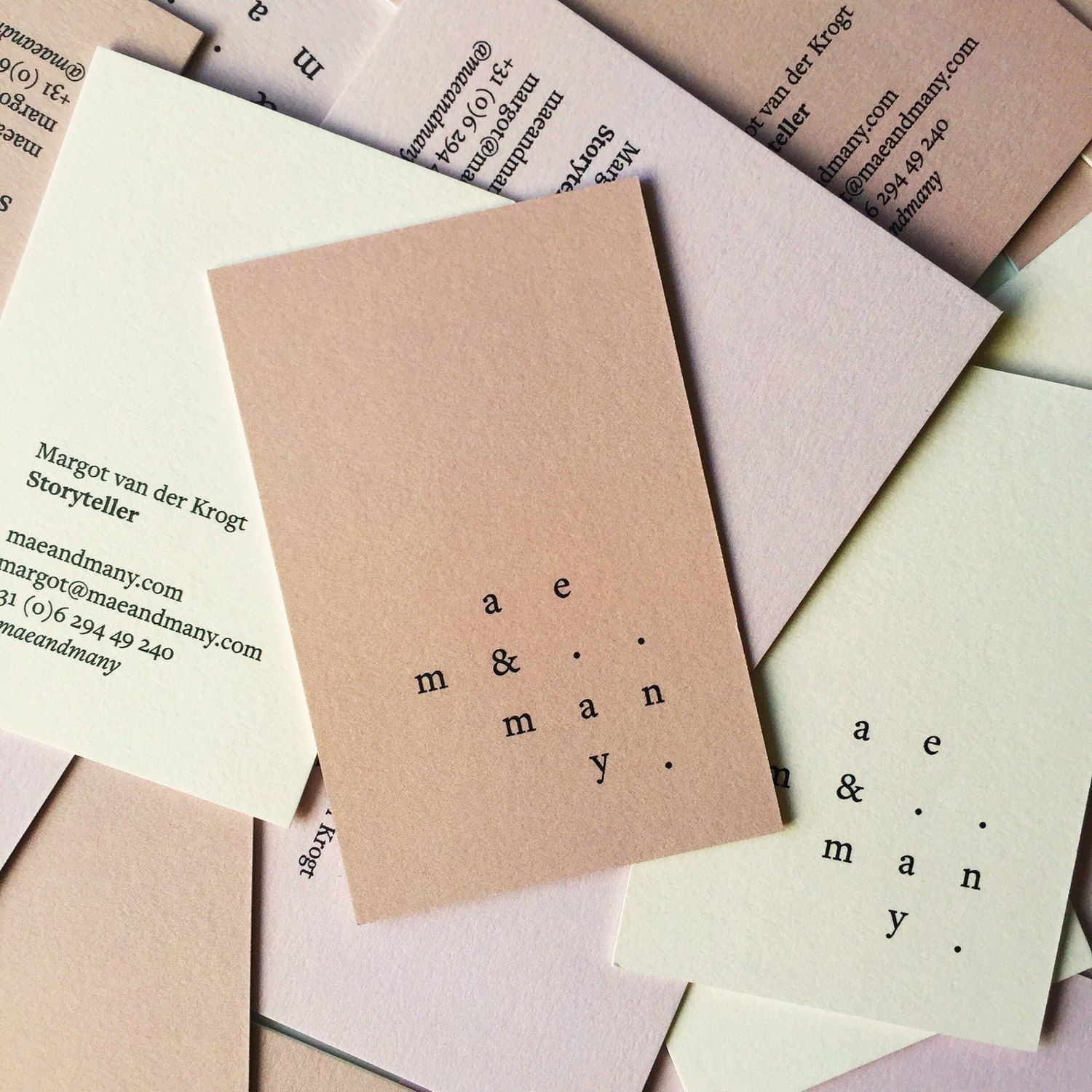 maeandmany business cards design pinterest