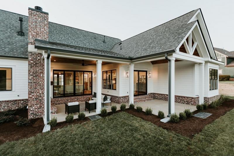 Hickory Flat House Floor Plan Frank Betz Associates Home Exterior Makeover Cottage Plan Modern Farmhouse Interiors