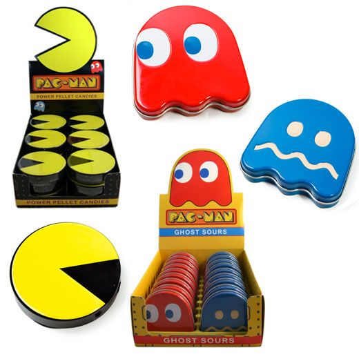 Pac-Man Sour Candies: Power Pellets for People