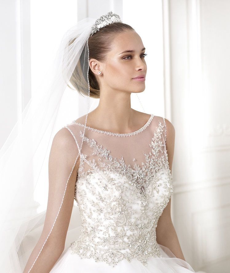 Beautiful Pronovias gown at Ida\'s Bridal in Overland Park KS ...