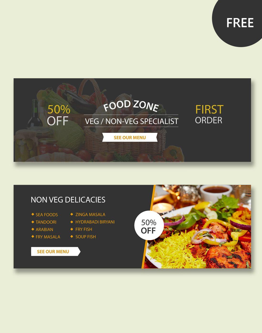 Restaurant banner design ideas the best