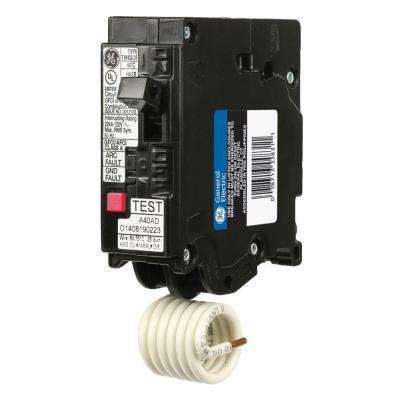 Ge Q Line 20 Amp Single Pole Dual Function Arc Fault Gfci Breaker