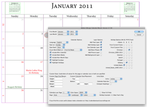 this is a great indesign calendar wizard to easily create a new
