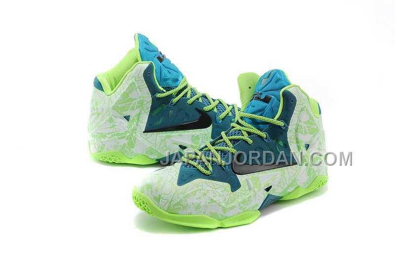 wholesale dealer c0c4f 79d41 NIKE LEBRON XI PS, XDR MENS 緑 白 GRAFFITI PRINTING ホット販売 Only ¥11,305 , Free  Shipping!