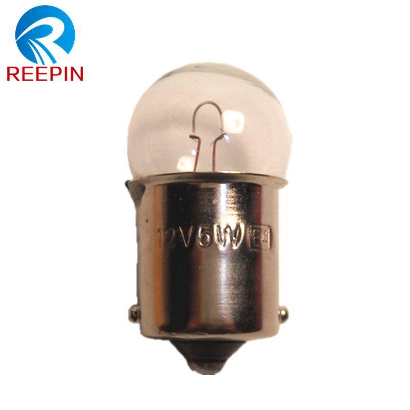 10pcs G18 R5w 12v 5w Ba15s Car Bulb Door Lights Halogen Lamp Oem Quality Cp023 Drop